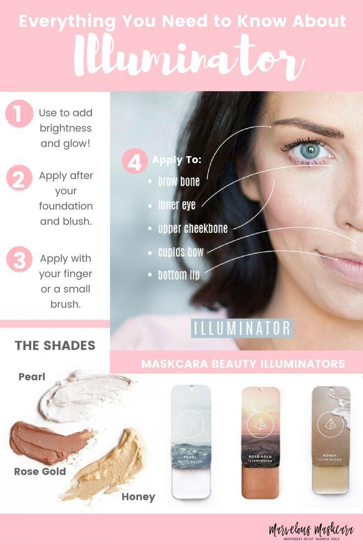 Illuminator Makeup Guide and How To| Maskcara Beauty| www.maskcarabeauty.com/mad…