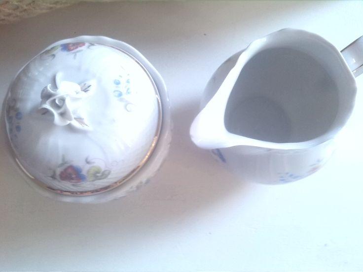 suiker en melk kannetje #huur servies