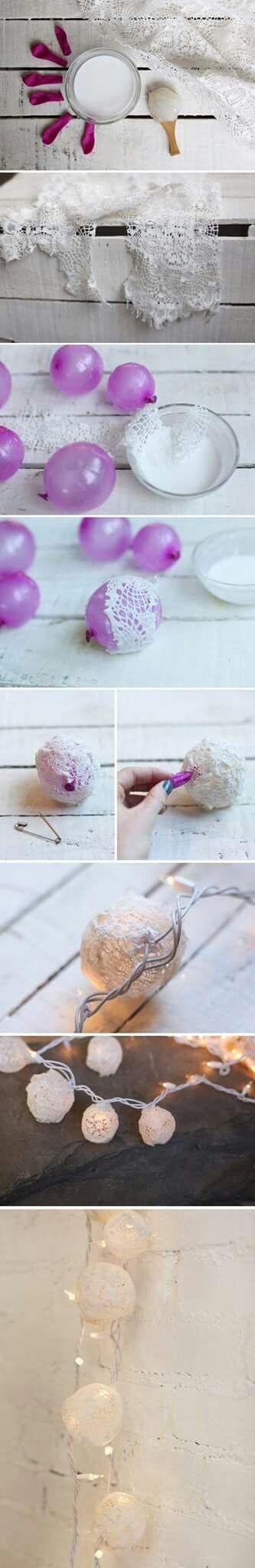 Cosas lindas con globo