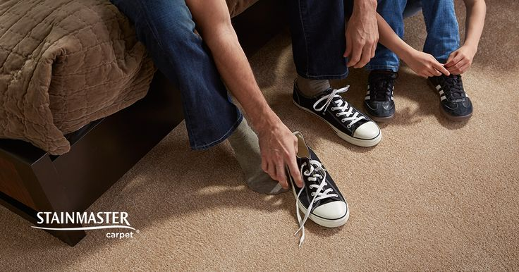 Having dry soil tracked onto your carpet is a part of everyday living. Check out this handy cleaning guide for dirt removal. #STAINMASTER #tips #carpet #advice #cleaning