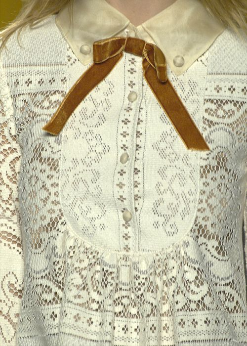 not really a lace girl, but I love this blouse