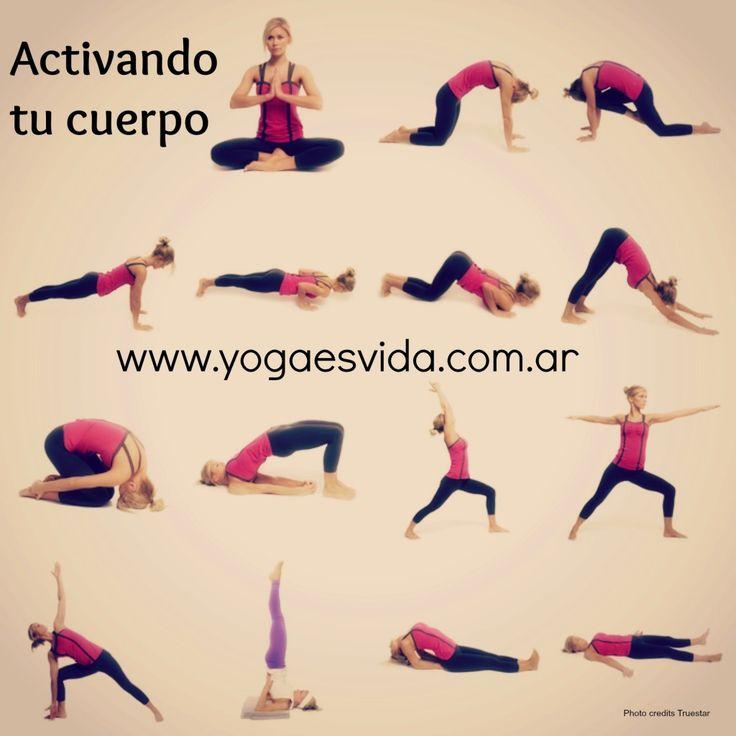 secuencia de yoga #yoga #yogaesvida www.yogaesvida.com