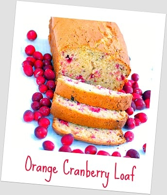 Orange Cranberry Loaf by Within the Kitchen