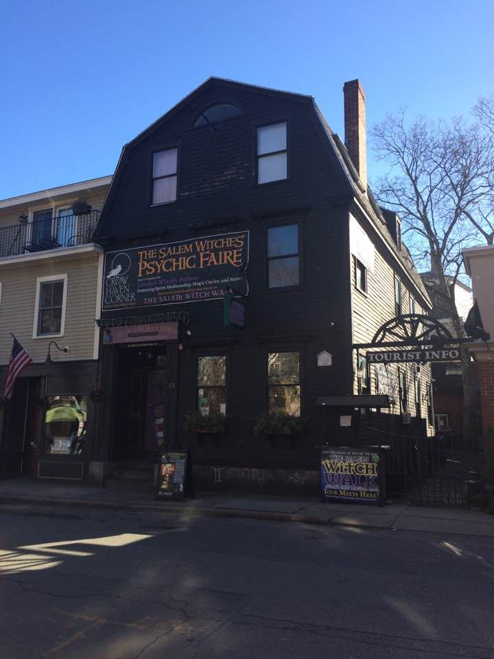 A Real Witches House In Salem Ma Above Her Shop Witch House Real Witches Witch