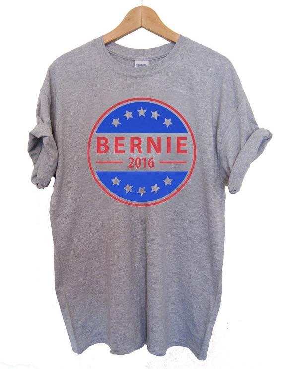 Bernie Sanders logo 2016 T Shirt Size S,M,L,XL,2XL,3XL