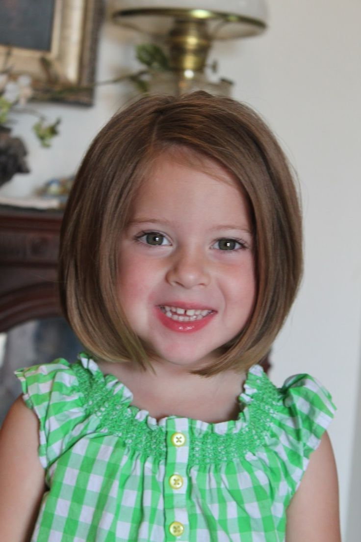 Shoulder Length Hairstyles For Kids Hairstyle For Curly Hair Little Girl Short Hairstyles Little Girl Haircuts Bob Haircut For Girls
