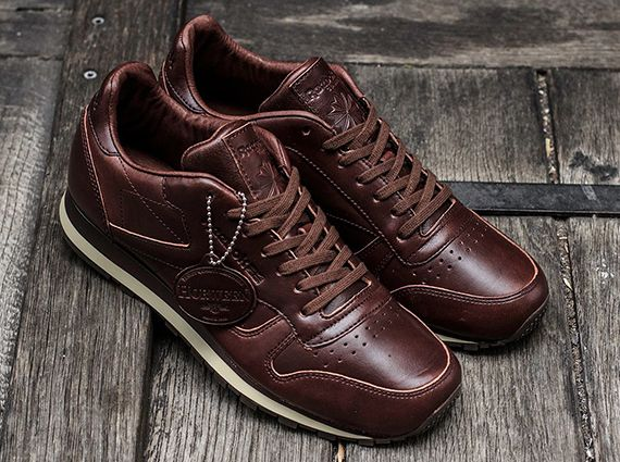 ed093c47b0925 Horween x Reebok Classic Leather Lux - Brown - SneakerNews.com ...