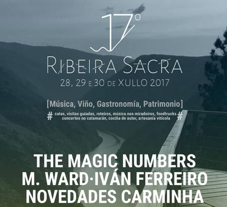 17º Festival Ribeira Sacra 2017. Ocio en Galicia | Ocio en Lugo. Agenda actividades. Cine, conciertos, espectaculos