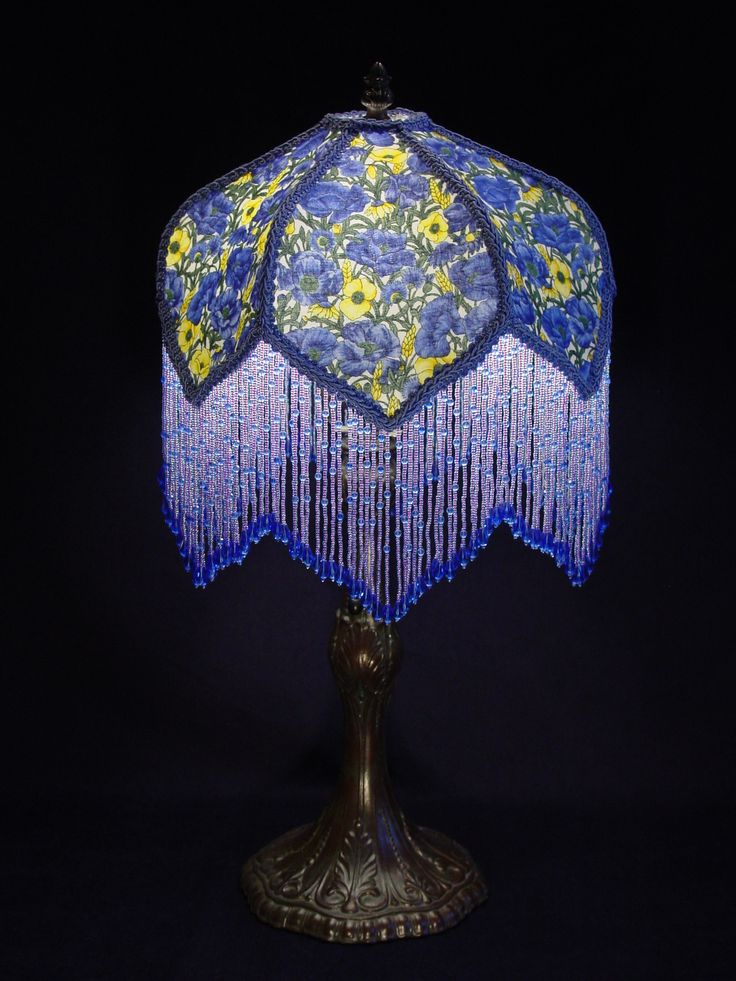 Blue Ceiling Lamp Shade