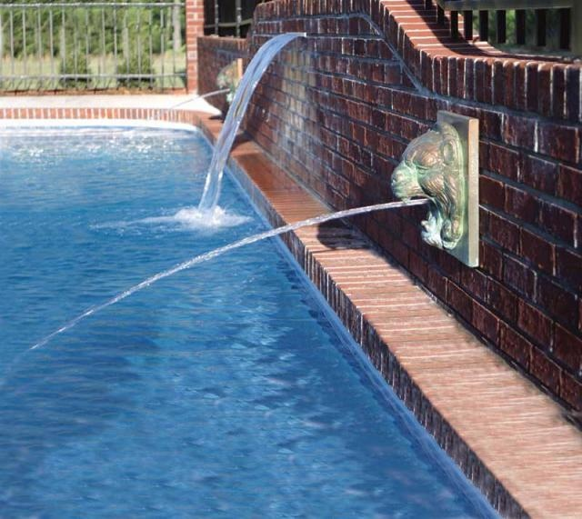 119 best images about water features on pinterest rock waterfall swimming pool designs and for Swimming pool water delivery cost