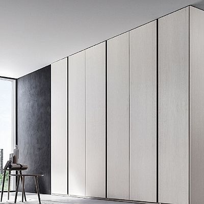 Contemporary, elegant 'Celine' wardrobe. Beautiful white piece, high quality materials. My Italian Living.