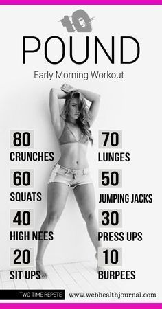 10 Pound Early Morning Workouts at Home for Women. Maybe I'll get to this level one day... 2 week diet build muscle