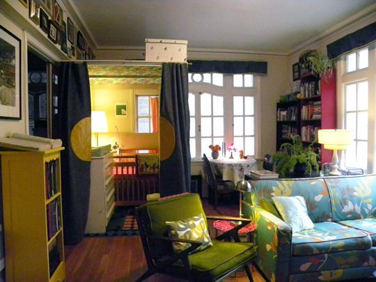 Nursery In The Living Room In An San Francisco 1 Bedroom Apt. Who Says You