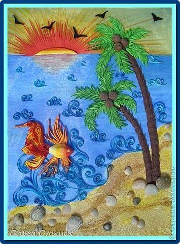 Море, солнце, белый песок....   Страна Мастеров
