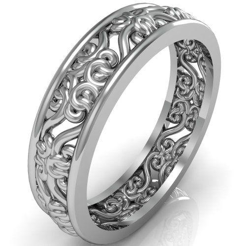 unique wedding bands - Wedding Rings Amazon