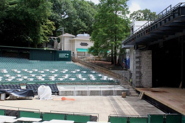 First Look At The Renovations To State Bank Amphitheatre At