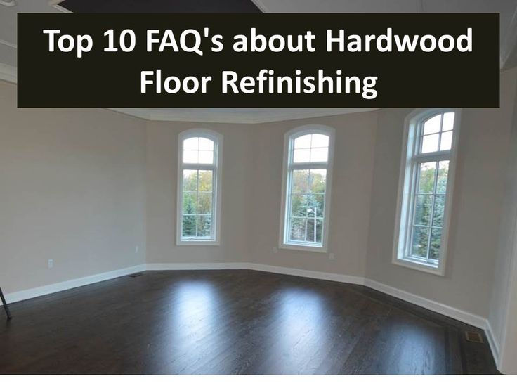 Hardwood floor refinishing FAQs - Everything you ever wanted to know - The Flooring Girl
