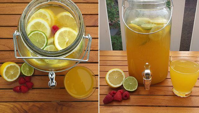 gezonde frisdrank http://www.healthyandhandsome.nl/recepten/gezonde-frisdranklimonade/