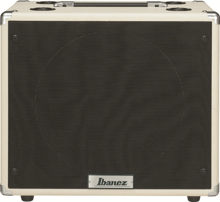 "Ibanez TSA112C: The TSA112C speaker cabinet complements the TSA Tube Screamer head. Its 12"" sq. enclosure features a Celestion Seventy 80 speaker, outputting a tightly controlled low-end with punchy, aggressive upper midrange. Power rating of 80w at 8ohms."