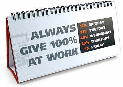 Welke werkdagen werken we?