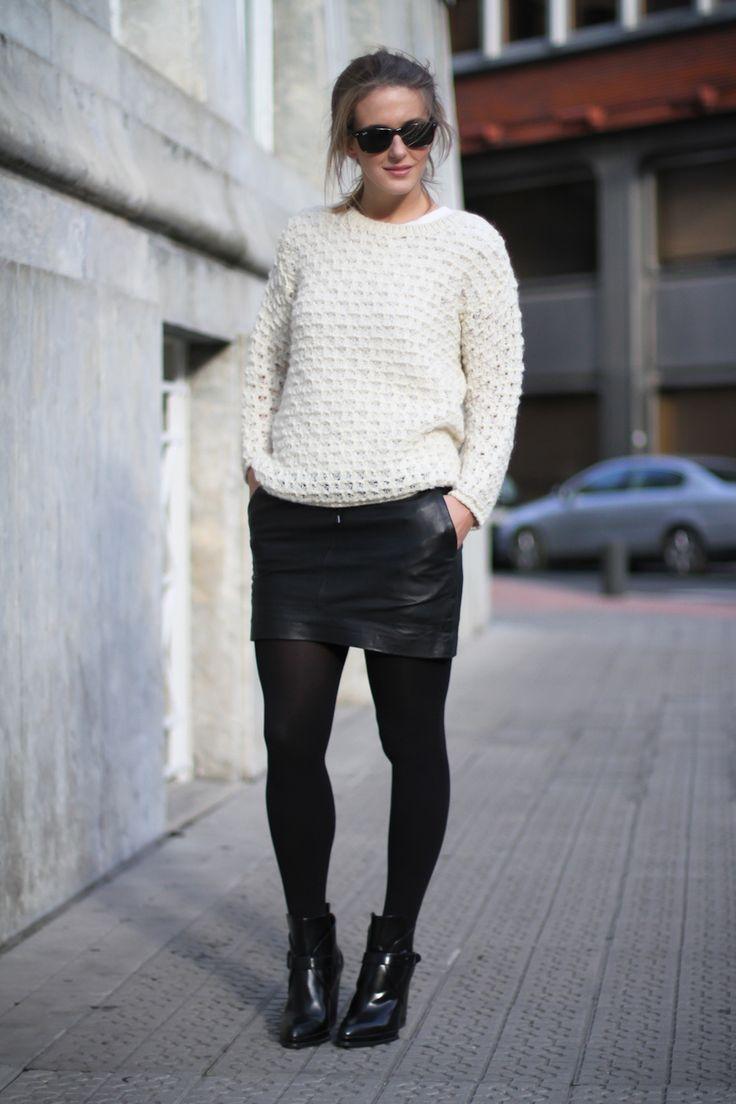 IMG_0311Clochet iro jumper mango leather skirt