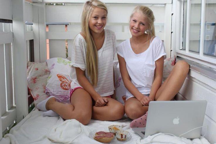Aurora Mohn and Erica Kvam