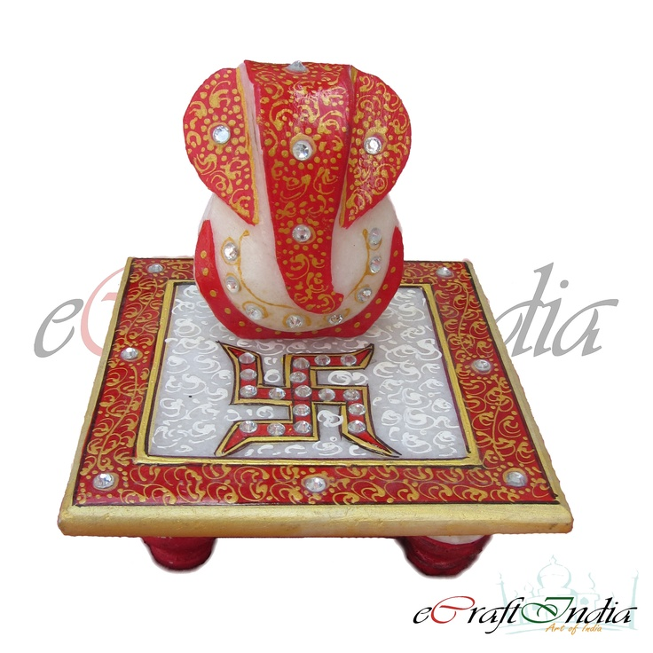 We offer a supreme quality array of Marble Ganpati Statues. These Marble Ganpati Statues are designed by the skilled professionals as they have profound knowledge in the domain. It is believed that lord Ganesha is the deity of wisdom and prosperity and thus, widely required in religious places.