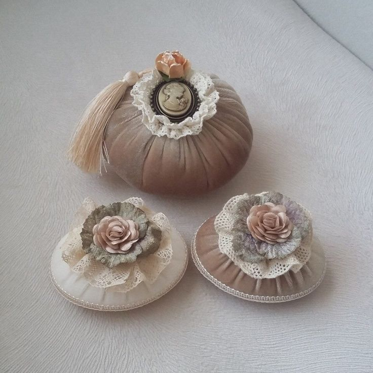 Like these for pincushion ideas.