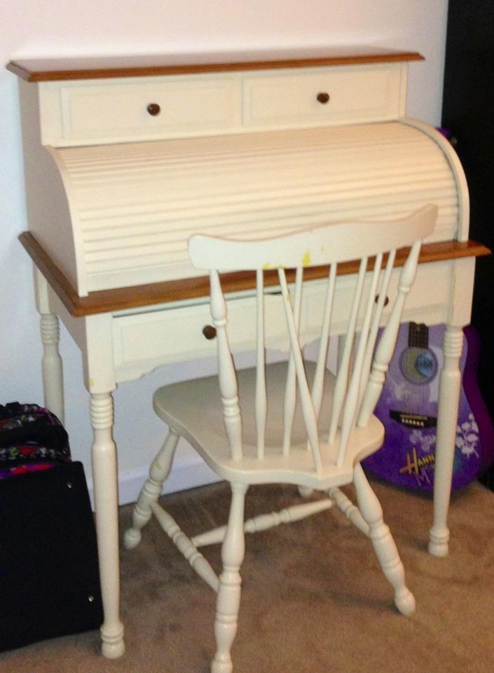 Abby's antique roll top desk... What color should we paint ... - 111 Best Roll Top Desk Makeover Images On Pinterest Desk Makeover
