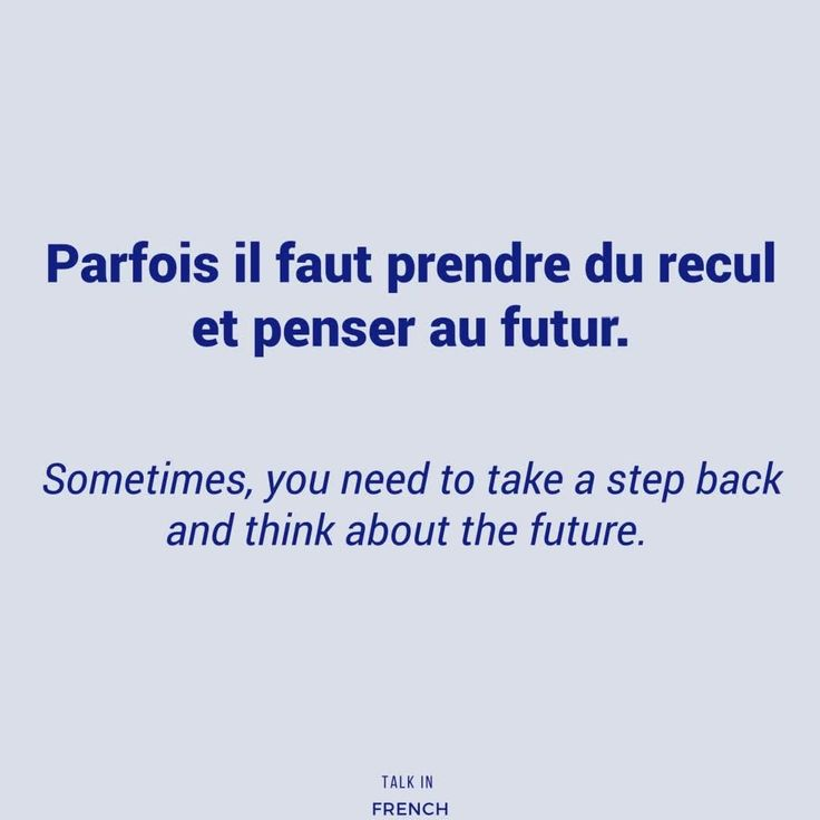 948 vind-ik-leuks, 3 reacties - Talk in French (@talkinfrench) op Instagram: '#FrenchExpression of the week: prendre du recul - to take a step back (lit. to take a retreat) e.g.…'