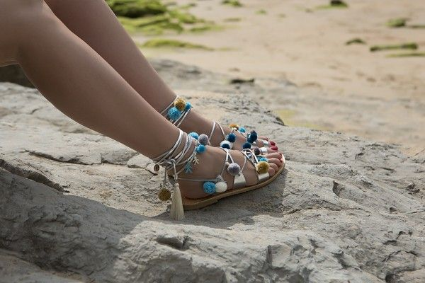 Sandalias Saint Tropez Lace up