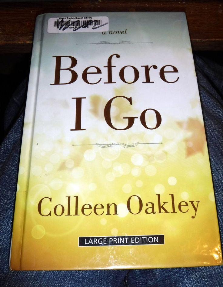 colleen oakley before i go epub
