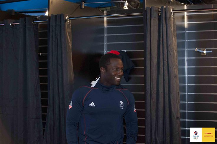 Lamin Deen at the Team GB Kit Out