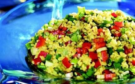 Bulgur Salatası