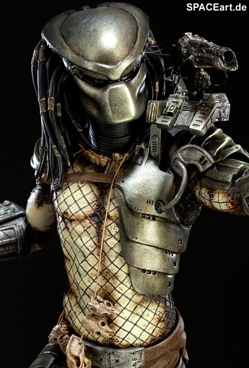 Predator 1: Classic Predator - Deluxe Statue, Fertig-Modell ... http://spaceart.de/produkte/pr022.php