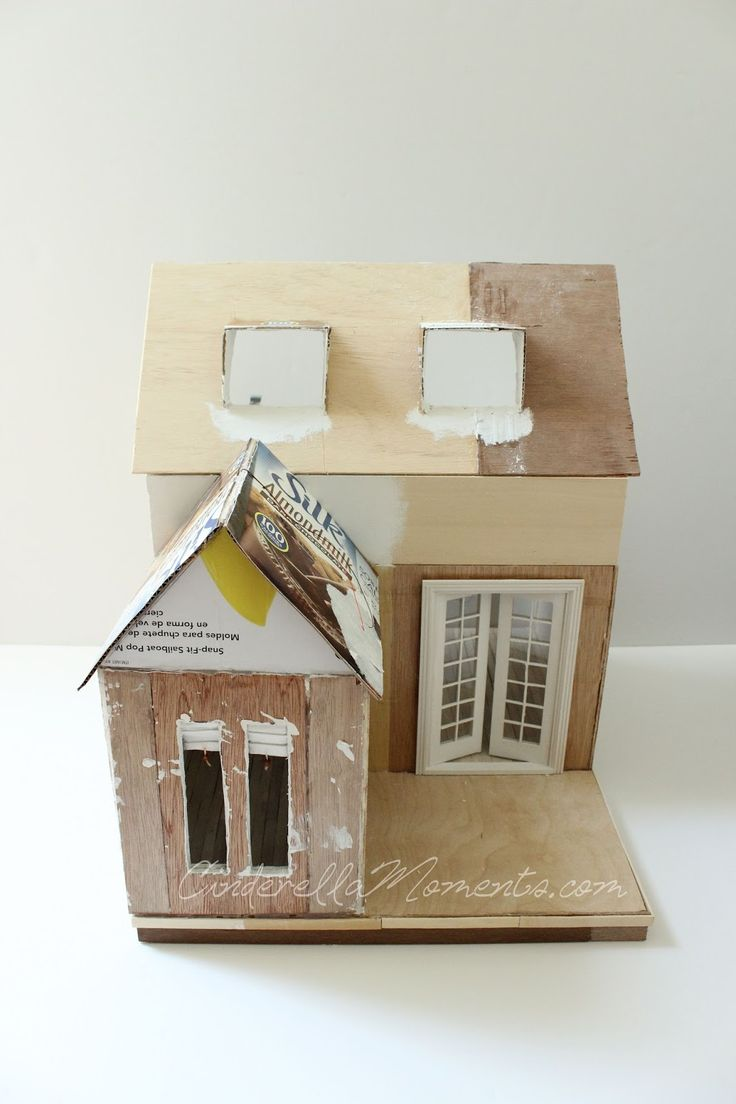 Cinderella Moments: Dollhouse Custom Construction Part 3 - Featuring Lilac Cottage