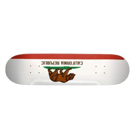 California State Flag Skateboard Decks