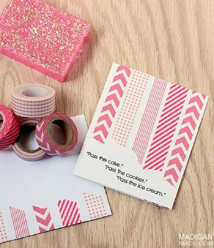 Happy Birthday Washi Tape Card 1