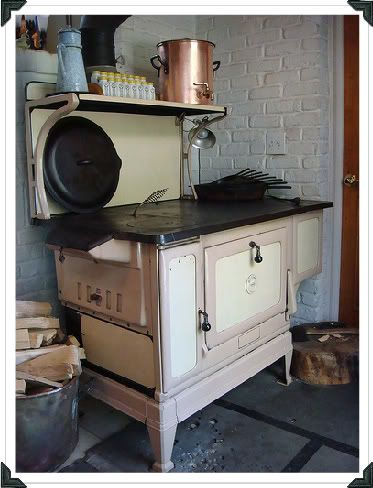 Old Wood Burning Cook Stove. Donu0027t Know Year Or Model. How Women