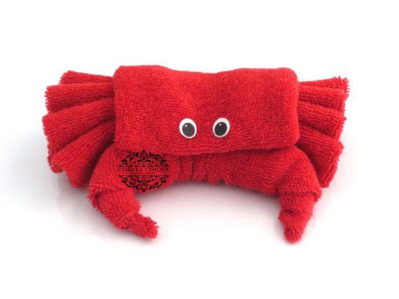 ORIGINAL CREATOR of Baby Washcloth Crab, Diaper cake, Under the Sea, Birthday, Baby Shower, Favors, Centerpiece, Decorations, Blue Crab
