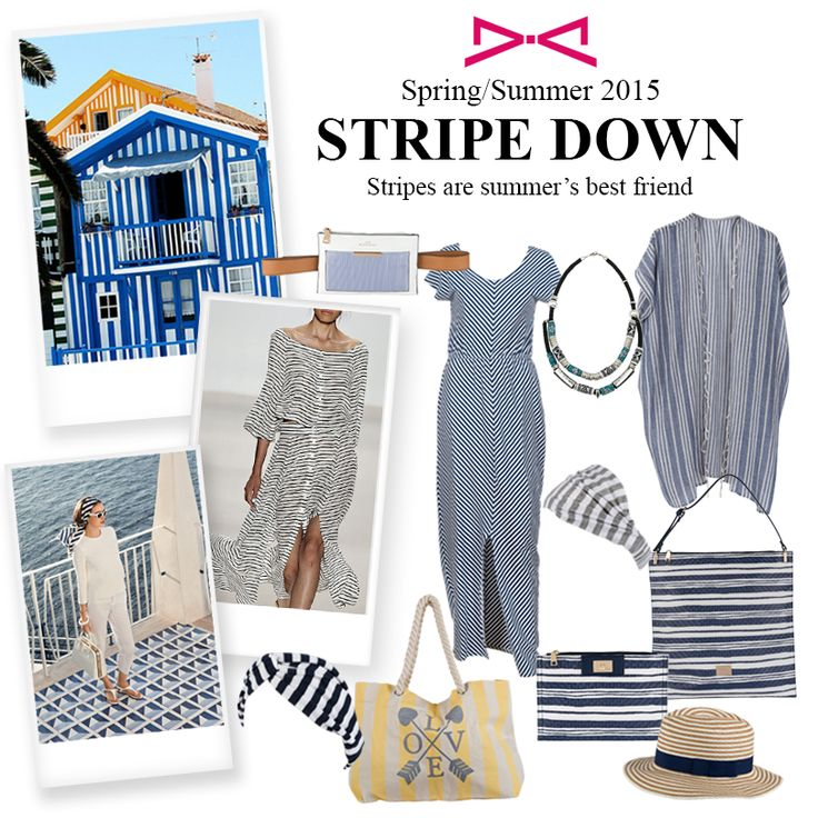 Like we say stripes are summer's best friend.  #achilleas_accessories