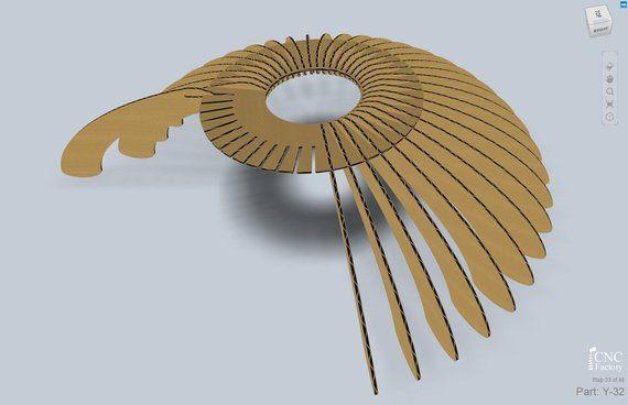 Lampe De Madrid Plans Modele Cnc Decoupe Fichier Lampe Etsy Wood Lamps Pendant Light Design Pendant Lamp