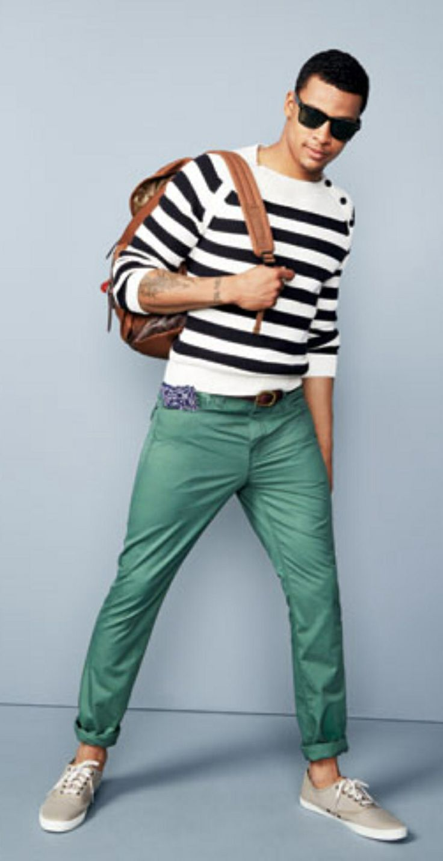 Green Pants Men Style