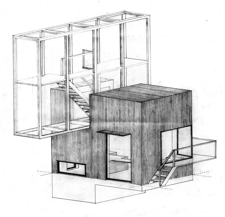 Architecture Drawings Drawing Architecture House A Troels Skov Carlsen