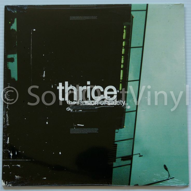 Thrice The Illusion of Safety Vinyl Sealed First Press