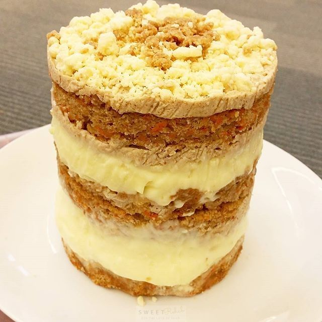 Momou Carrot Layer Cake Recipe
