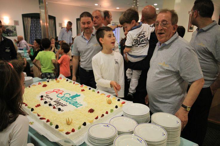 inaugurazione Stagione 2014 GoinSardinia - la Compagnia di navigazione da e per la Sardegna creata dai sardi (il momento del taglio della torta2)