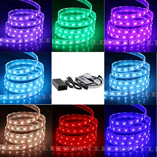 174 best bath ideas images on pinterest accessories home decor very waterproof newstyle smd5050 fully submersible led strip ip68 waterproof 5m16ft 5050 300leds aloadofball Images