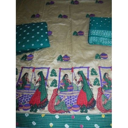 Kutchi Embroidery Dress Material (KD0104)