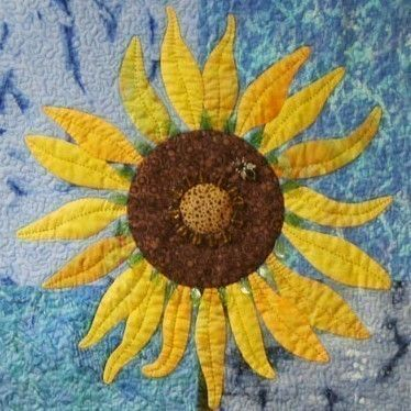 dunn and detail long custom quilts sunflower quilting designed quilt arm dunnquilting